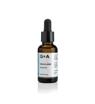 Q+A Squalane Facial Oil Veido aliejus, 30ml   elvaistine.lt