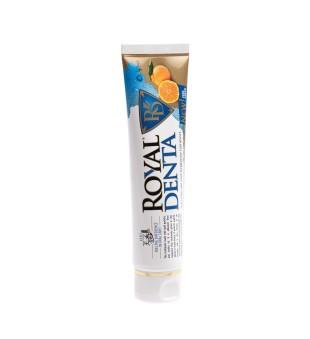 Royal Denta Jeju Citrus And Gold Technology Toothpaste Dantų pasta su auksu ir unshiu, 130g | elvaistine.lt