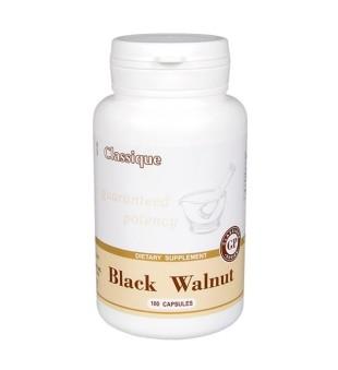 Santegra Juodasis graikiškas riešutmedis (Black walnut) kapsulės N100 | elvaistine.lt