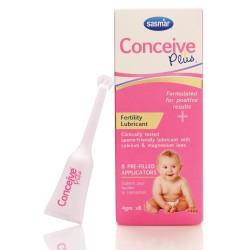 Conceive Plus vaisingumo lubrikantas, aplikatoriai 8x4g, Sasmar