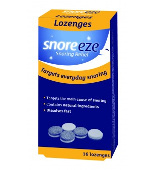 Snoreeze Tabletės nuo knarkimo Snoreeze Lozenges 16 vnt.   elvaistine.lt