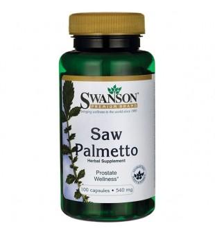Swanson Sabalpalmė, (Saw Palmetto, Gulsčioji serenoja) 540 mg N100   elvaistine.lt