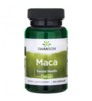 Swanson MACA 500 mg N60   elvaistine.lt