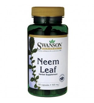 Swanson Neem 500 mg N100 | elvaistine.lt