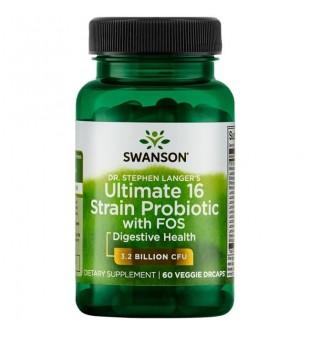 Swanson Probiotikai-16 N60 | elvaistine.lt