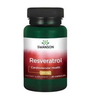 Swanson Resveratrolis 100 mg N30 | elvaistine.lt