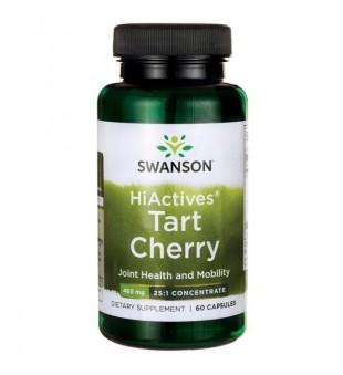 Swanson Tart Cherry (vyšnių koncentratas) 465 mg N60 | elvaistine.lt