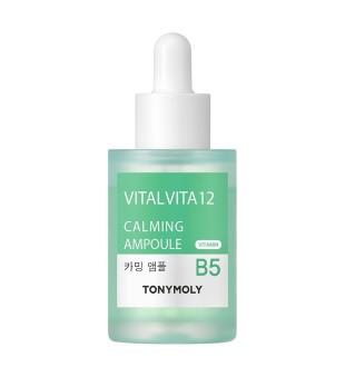Tony Moly Vital Vita 12 Calming Ampoule Raminamasis veido serumas, 30ml | elvaistine.lt