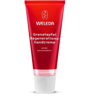 Weleda Pomegranate Regenerating Hand Cream Regeneruojantis rankų kremas su granatais, 50ml | elvaistine.lt