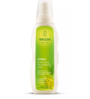 Weleda Citrus Hydrating Body Lotion Kūno pienelis su citrusiniais vaisiais, 200ml | elvaistine.lt