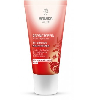 Weleda Pomegranate Firming Night Cream Stangrinamasis naktinis veido kremas, 30ml | elvaistine.lt