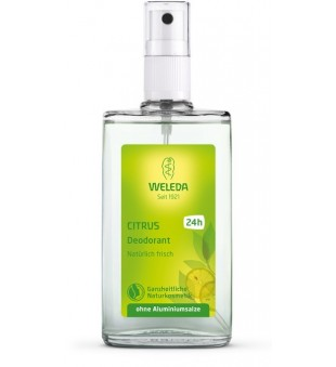 Weleda Citrus Deodorant Purškiamas dezodorantas su citrusiniais vaisiais, 100ml | elvaistine.lt