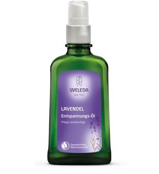 Weleda Lavender Relaxing Body Oil Kūno aliejus su levandomis, 100ml   elvaistine.lt