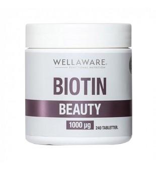 WellAware Biotin Beauty 1000mcg Maisto papildas, N240 | elvaistine.lt