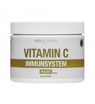 WellAware Vitamin C Immunsystem Maisto papildas, 300g   elvaistine.lt