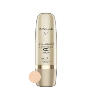 Yonelle Metamorphosis D3 Anti-Wrinkle CC Cream SPF10 Light Neutral Priešraukšlinis CC kremas, 50ml | elvaistine.lt