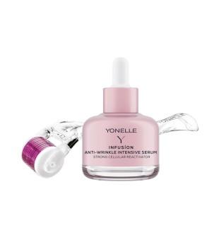 Yonelle Infusion Micro-Needling Treatment Mezoroller+Serum Mezoroleris + veido serumas nuo raukšlių, 1vnt | elvaistine.lt
