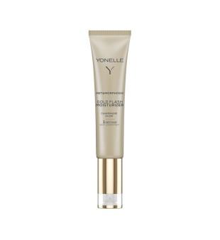 Yonelle Metamorphosis Gold Flash Moisturizer Champagne Glow Spindesio suteikianti drėkinamoji veido priemonė, 25ml | elvaistine.lt