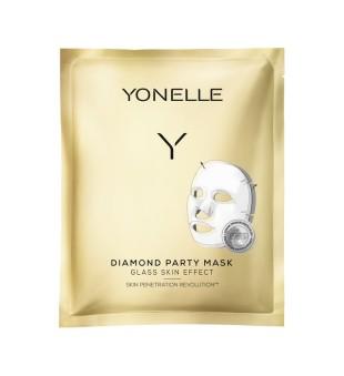 Yonelle Diamond Party Mask Intensyvaus poveikio gavinamoji veido kaukė, 1vnt | elvaistine.lt