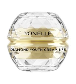 Yonelle Diamond Youth Cream No5 Jauninamasis veido kremas su deimantų dulkėmis, 50ml | elvaistine.lt