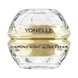 Diamond Night Ultra Cream Gaivinamasis naktinis veido kremas, 50ml