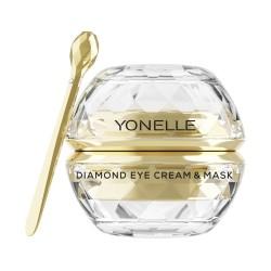 Diamond Eye Cream & Mask Paakių kremas-kaukė su deimantų dulkėmis, 30ml