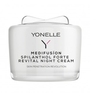 Yonelle Medifusion Spilanthol Forte Revital Night Cream Atkuriamasis naktinis veido kremas, 55ml | elvaistine.lt