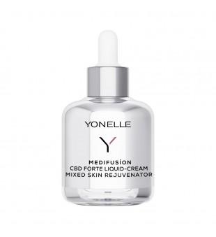 Yonelle Medifusion CBD Forte Liquid-Cream Atkurimasis kremas probleminei odai, 50ml | elvaistine.lt