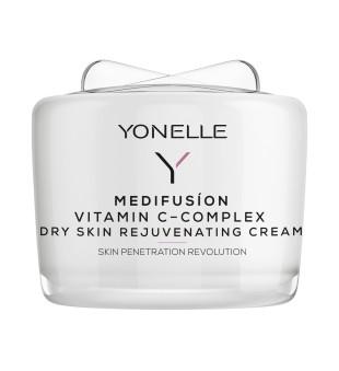 Yonelle Medifusion Vitamin C-Complex Dry Skin Rejuvenating Cream Maitinamasis kremas sausai odai, 55ml | elvaistine.lt