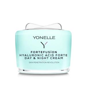 Yonelle Fortefusion Hyaluronic Acid Forte Day & Night Cream Drėkinamasis veido kremas, 55ml | elvaistine.lt