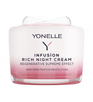 Yonelle Infusion Rich Night Cream Maitinamasis naktinis veido kremas, 55ml | elvaistine.lt